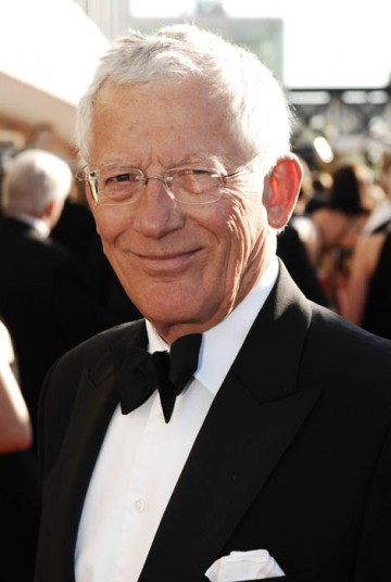 Nick Hewer, part of the Apprentice team, arrives on the red carpet followed by his boss, Sir Alan Sugar (BAFTA/Richard Kendal).