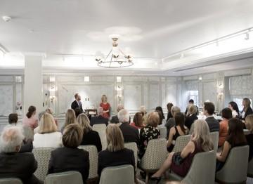 Academy Circle event with Emilia Fox, Fortnum & Mason, May 2014 (Photo credit: BAFTA/John Maloney)
