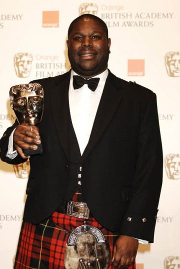 Steve McQueen, director of true-life drama Hunger, took The Carl Foreman Award for Special Achievement By A British Director, Producer or Writer (for a first film) (BAFTA/ Richard Kendal).