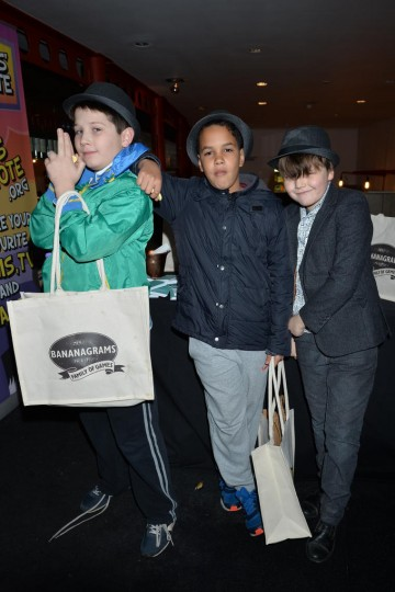 Children took away some exciting treats in their goodie bags
