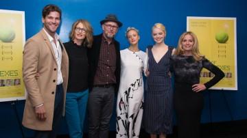 Austin Stowell, Valerie Faris, Jonathan Dayton, Andrea Riseborough, Emma Stone, Elisabeth Shue