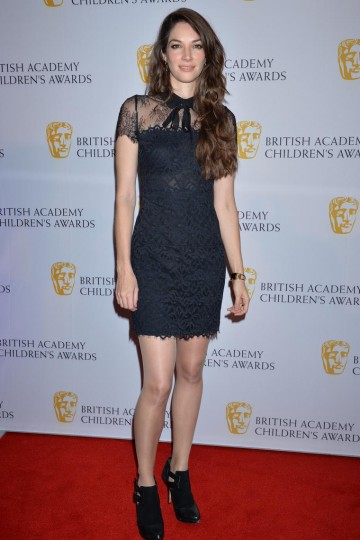 Illusionist Katherine Mills hits the red carpet at the British Academy Children's Awards in 2014