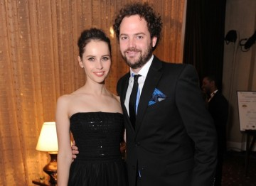 Drake Doremus and Felicity Jones (Like Crazy)
