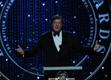 Bringing his unique wit and humour to the proceedings, Stephen Fry returned to Los Angeles to host the Britannia Awards for another year.