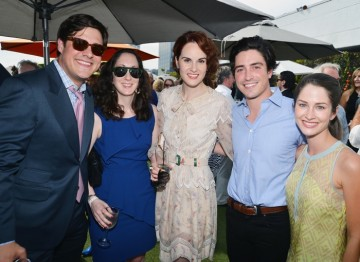 Rich Sommer, Virginia Donohoe, Michelle Dockery, Ben Feldman