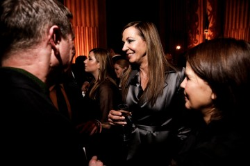 Allison Janney at the BAFTA Nespresso Nominees' Party