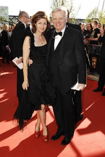 Former ITV boss Michael Grade walks the red carpet at the Television Awards (BAFTA / Richard Kendal).