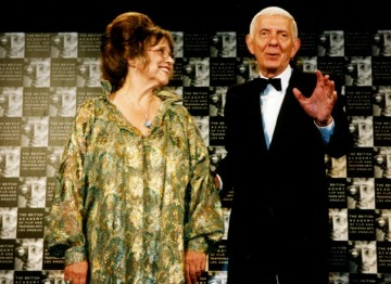 Christiane Kubrick and Aaron Spelling