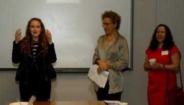 BAFTA New York Scholarship winner Chelsea Franklin