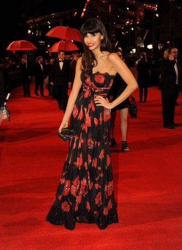 T4 presenter and fashionista, Jameela Jamil. (Pic: BAFTA/Richard Kendal)