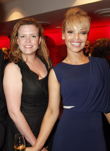 The presenter of Katie: My Beautiful Friends (pictured right) will present the Breakthrough Talent award this evening. (Pic: BAFTA/Chris Sharp)