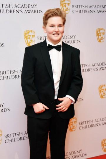 Leo Waddell at the BAFTA Children's Awards 2015 at the Roundhouse on 22 November 2015