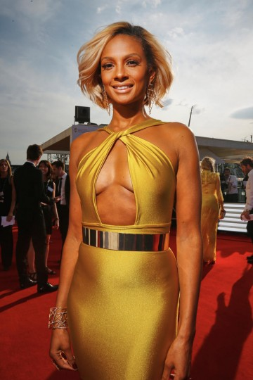 Alesha Dixon looks flawless on the red carpet