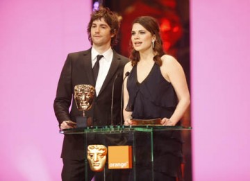 The Duchess star Hayley Atwell and The Other Boleyn Girl actor Jim Sturgess presented both the Short Film and Short Animation Awards (BAFTA / Marc Hoberman).