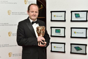 Winner of Production Design, Chris Roope, for War and Peace