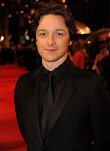 McAvoy, inaugural winner of the Orange Rising Star award and two-time BAFTA nominee, stars as a young Charles Xavier in the forthcoming X-Men: First Class. (Pic: BAFTA/Richard Kendal)