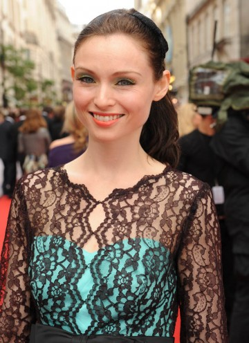 Pop songstress Sophie Ellis Bextor graces the red carpet at the Television Awards (BAFTA/Richard Kendal).