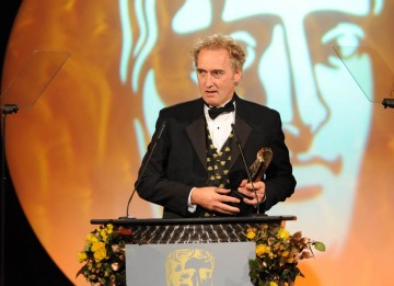 David Higgs collects the Photography & Lighting Fiction BAFTA for Red Riding 1983.