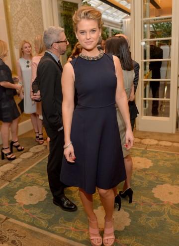 Alice Eve at the BAFTA LA 2014 Awards Season Tea Party.