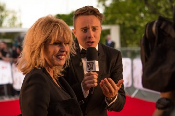 Roman Kemp interviews Fellowship recipient Joanna Lumley ahead of the ceremony