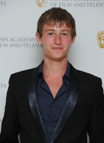 Shameless star Elliott Tittensor arrives at the British Academy Television Craft Awards.