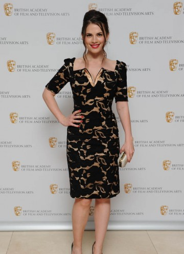 Hayley Attwell arrives to present the British Academy Television Craft Award for Photography Factual.