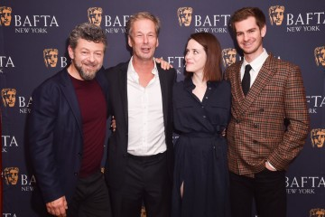 Andy Serkis, Jonathan Cavendish, Claire Foy, Andrew Garfield