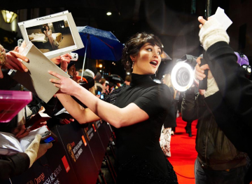 Gemma Arterton on the red carpet.
