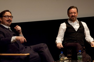 "Q&A moderated by John Hodgman with Ricky Gervais of ""Life's Too Short"""
