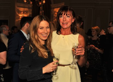 Actress Doon Mackichan (right) stars in Toast Of London which is nominated in the Situation Comedy category
