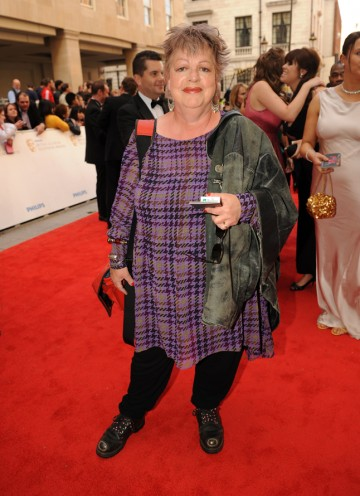 The actress is nominated for Female Performance in a Comedy Programme for Getting On, which she also co-writes. (Pic: BAFTA/Richard Kendal)