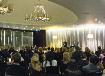 Academy Circle event with Tom Hiddleston, Bulgari Hotel, November 2013