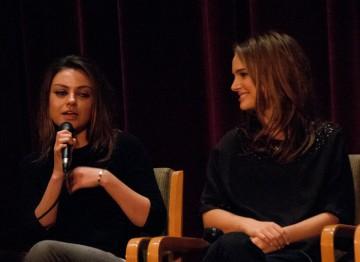 Mila Kunis and Natalie Portman