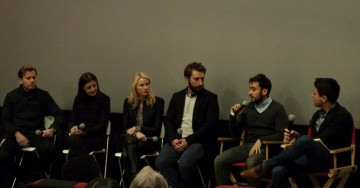 Ewan McGregor, Producer Belén Atienza, Naomi Watts, Writer Sergio Sanchez, Director Juan Antonio Bayona and Moderator Nigel Smith