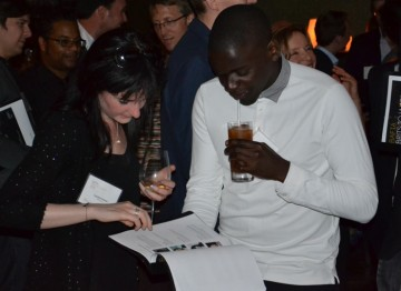 Actor/Writer Daniel Kaluuya with Producer Caroline Skinner