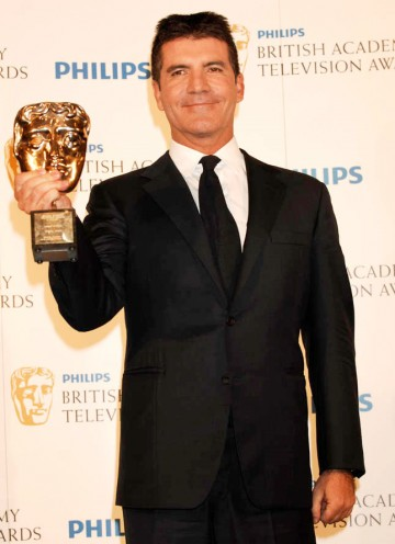 Simon Cowell wins the Special Award BAFTA (BAFTA/Richard Kendal).