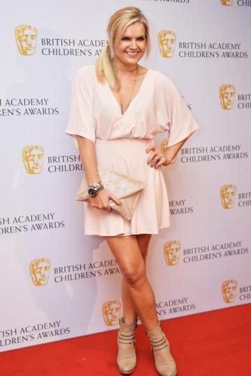 Katy Hill at the BAFTA Children's Awards 2015 at the Roundhouse on 22 November 2015
