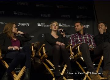 Amy Adams, Jennifer Lawrence, Bradley Cooper and Jeremy Renner