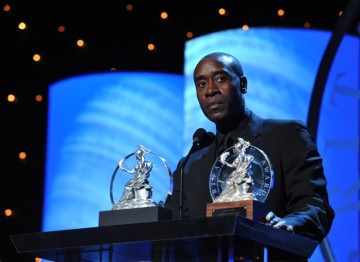 Don Cheadle, recipient of the BAFTA Los Angeles Humanitarian Award Presented by Volvo