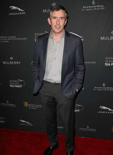 Steve Coogan arriving at the BAFTA LA 2014 Awards Season Tea Party.