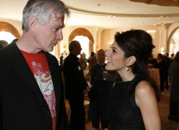 John Patrick Shanley and Marisa Tomei