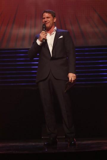 Steve Backshall presents the BAFTA for International at the British Academy Children's Awards in 2014