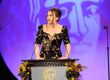 Actress Hayley Atwell took to the stage to present the Photography Factual category.