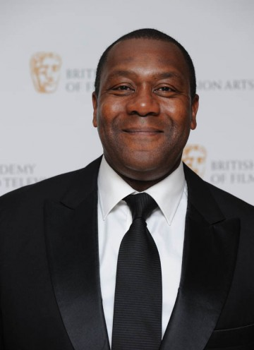 Comedian Lenny Henry arrives at the British Academy Television Craft Awards to present the BAFTA for Writer.
