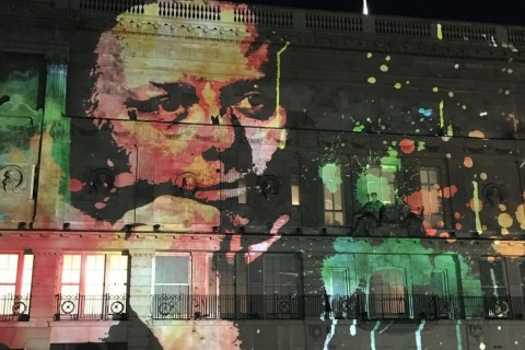 Richard Attenborough Lumiere projection