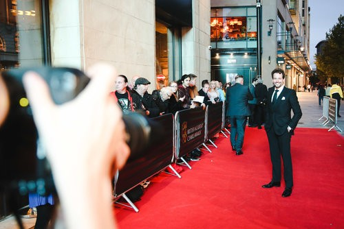Event: British Academy Cymru Awards Date: Sunday 14 October 2018Venue: St David's Hall, CardiffHost: Huw Stephens-Area: Red Carpet