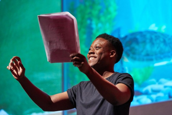 Event: BAFTA Rocliffe Writing for ChildrenDate: Sat 12 September 2015Venue: BAFTA, 195 PiccadillyHost: Farah AbusweshaPanellists: Diane Whitley (writer) and Lucy Martin (exec producer)-Works performed: The GranDad Project by Mariana SerapicosThe T