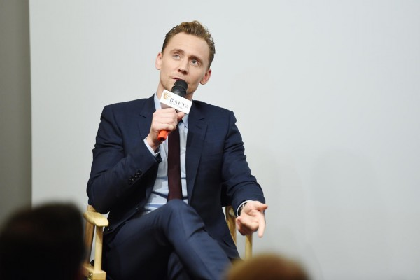 Event: In Conversation with Tom HIddlestonDate: 3.28.16Venue: RetroReport