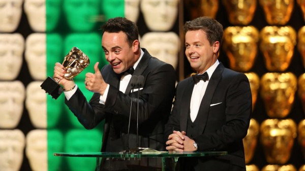 Ant & Dec Win Entertainment Programme