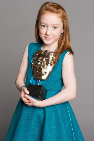 Cherry Campbell, winner of the Performer category for her role in Katie Morag is the youngest ever BAFTA-winner